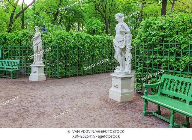 Sculpture in Summer Garden, Saint Petersburg, Russia