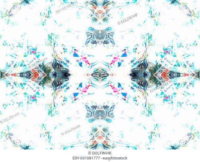 Light grey abstract kaleidoscope seamless background pattern