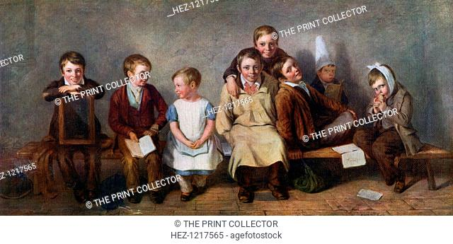 'The Smile', 1842, (1912). A colour print from Famous Paintings, with an introduction by Gilbert Chesterton, Cassell and Company, (London, New York, Toronto