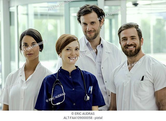 Healthcare workers, portrait