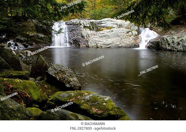 Buttermilk Falls, Vermont, USA