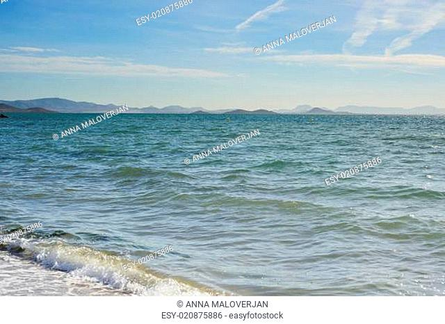 Mar Menor sea