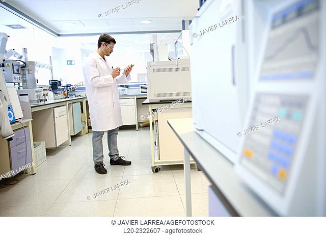 Researcher. Organic lab. Chemical Analysis Laboratory. Technological Services to Industry. Tecnalia Research & Innovation, Donostia, San Sebastian, Gipuzkoa