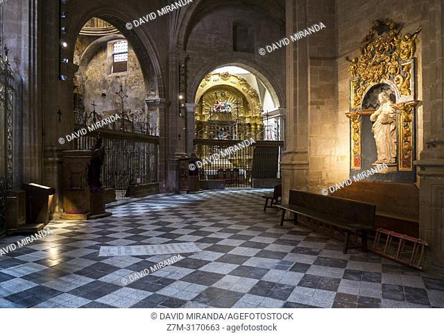 Trascoro. Catedral de Calahorra. La Rioja. Spain