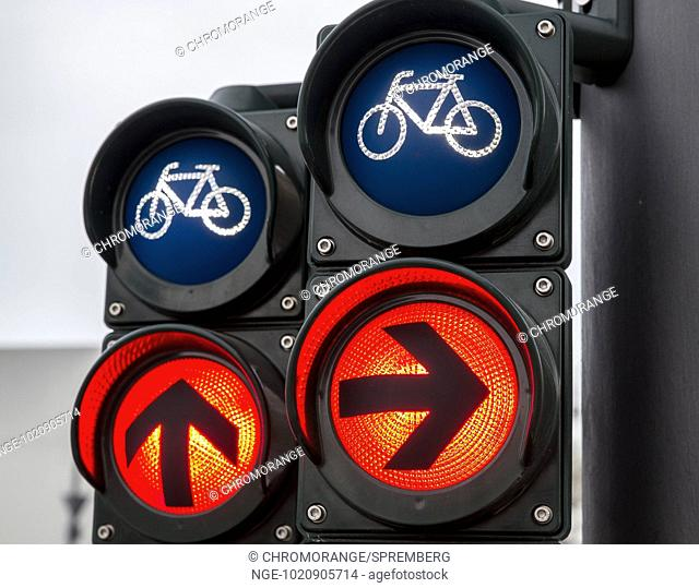 Traffic lights for cyclists