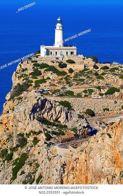 Mallorca, Lighthouse, Cabo de Formentor, Formentor Cape, Serra de Tramuntana, UNESCO World Heritage Site, Mallorca Island, Majorca, Balearic Islands, Spain
