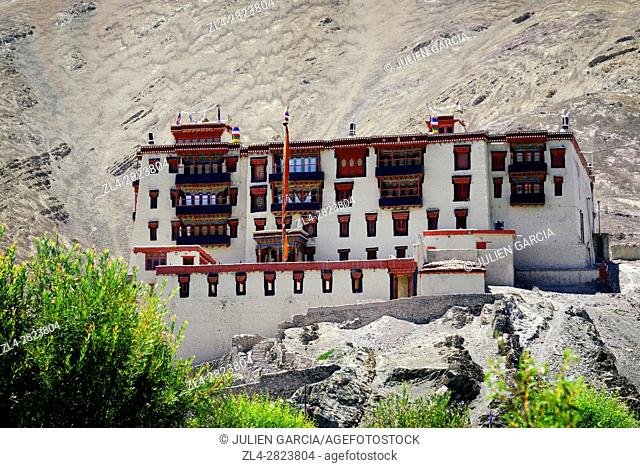 India, Jammu and Kashmir State, Himalaya, Ladakh, Indus valley, Stok palace
