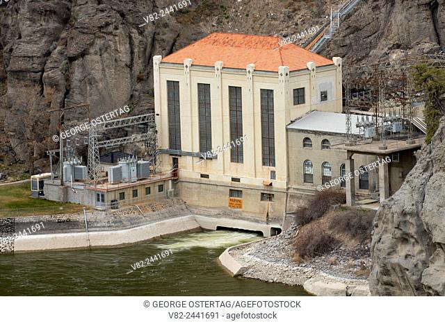 Powerhouse at Shoshone Falls, Shoshone Falls/Dierkes Lake Complex, Twin Falls, Idaho