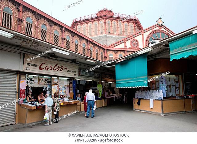 Stall, Mercat de Sant Antoni, Barcelona, Spain