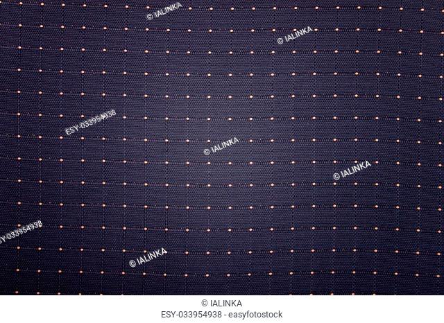 Elegant Blue Background with Yellow Spots, Close-Up