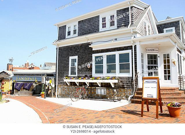 Landfall Restaurant, Woods Hole, Falmouth, Cape Cod, Massachusetts, United States, North America