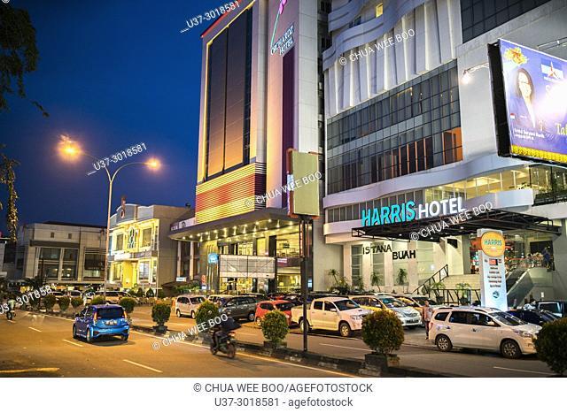 Pontianak city centre, West Kalimantan, Indonesia