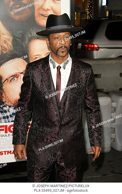 """Katt Williams at the Premiere of Warner Bros' """"""""Father Figures"""""""" held at the TCL Chinese Theater in Hollywood, CA, December 13, 2017"""