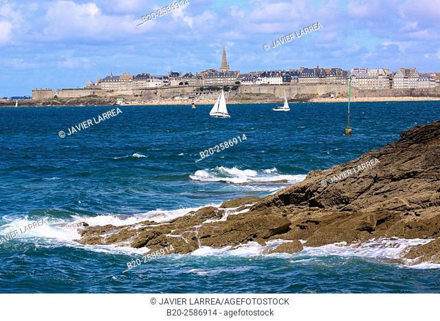 Saint Malo, Dinard, Emerald Coast, Côtes d'Armor, Brittany, Bretagne, France