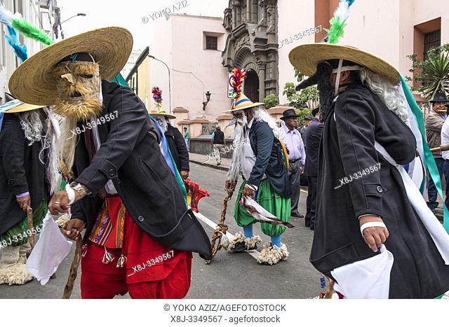 Peru, Lima, local festival