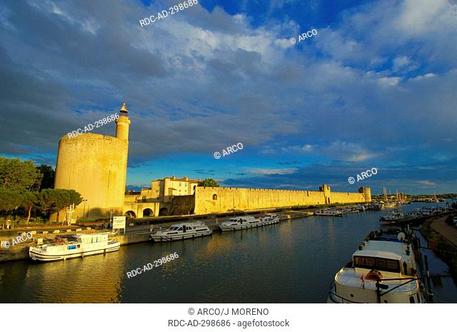 Constance Tower, Aigues Mortes, Petit Camargue, Gard department, Languedoc-Roussillon, France / Tour de Constance