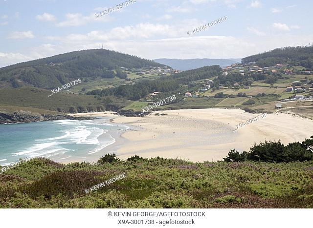 Pantin Beach at Galicia; Spain