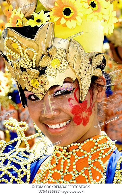Pintaflores festival, San Carlos, Negros Occidental, Philippines