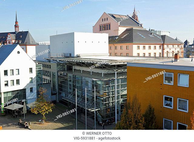 D-Mainz, Rhine, Rhine-Main district, Rhineland, Rhineland-Palatinate, Staatstheater Mainz, Mainz State Theatre, playhouse, music theatre, dance theatre
