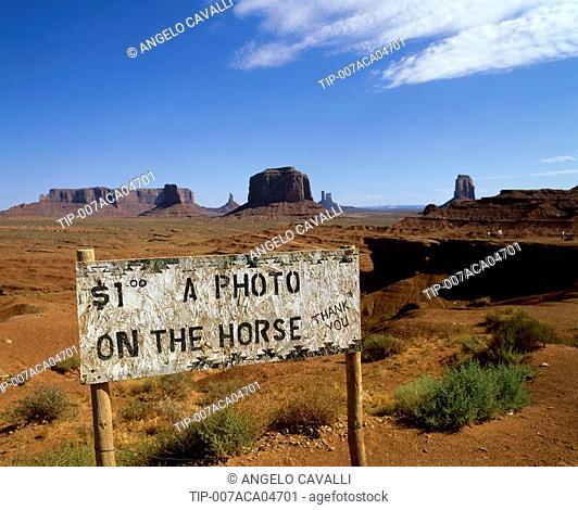 USA, Arizona, Monument Valley, Navajo Lands