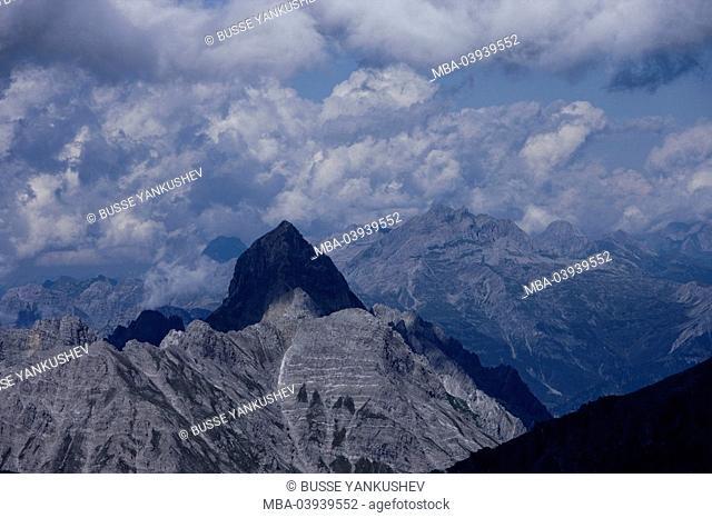 Austria, Vorarlberg, Montafon, Rätikon, Schesaplana, panorama, Zimba