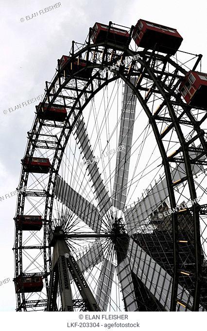Ferris wheel, Wiener Prater, Vienna, Austria