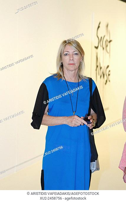 """Benaki Museum presents the exhibition """"""""Kim Gordon - Design Office: Noise Name Paintings and Sculptures of Rock Bands that are broken up"""""""""""