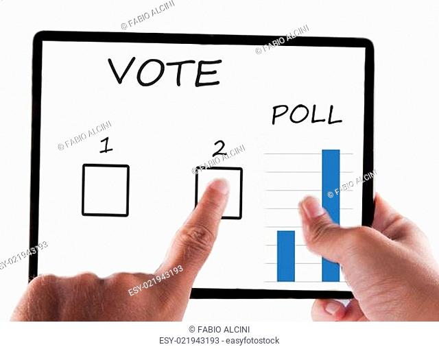 Tablet for vote