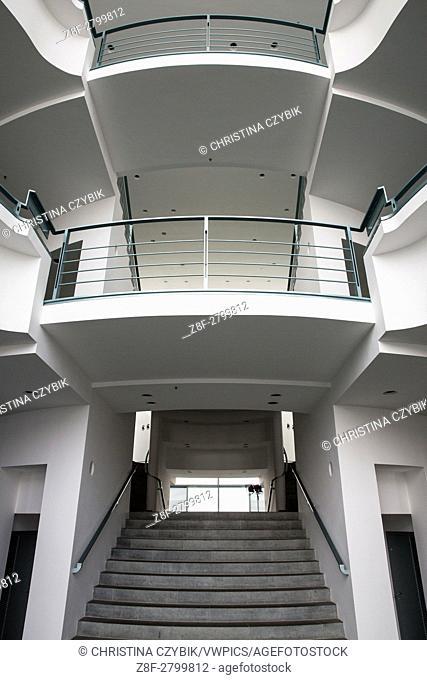 Walk through Bundeskanzleramt in Berlin, Germany