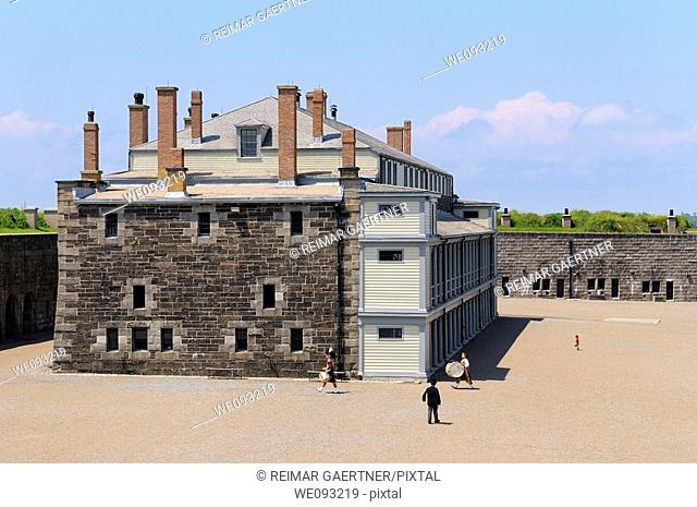 Historic Cavalier building at the center of the Citadel in Halifax Nova Scotia