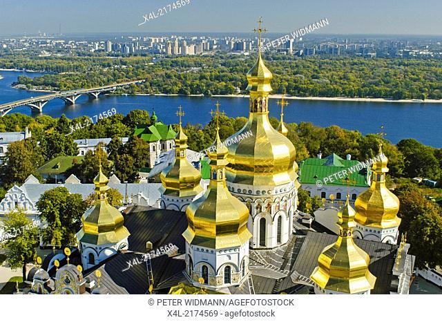 Kiev, cave monastery, river Dnepr, Ukraine