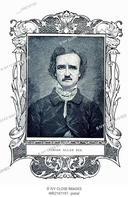 Edgar Allen Poe (1809-1849) was an American writer, poet, and literary critic. He was aligned with the American Romantic Movement