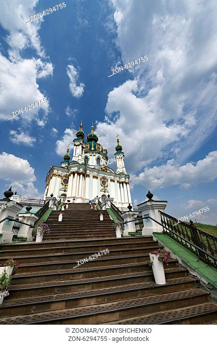 St. Andrew church in Kyiv