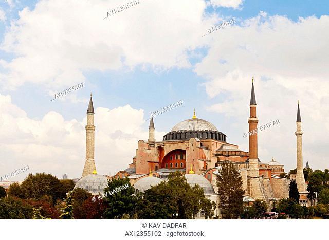 Hagia Sophia; Istanbul, Turkey