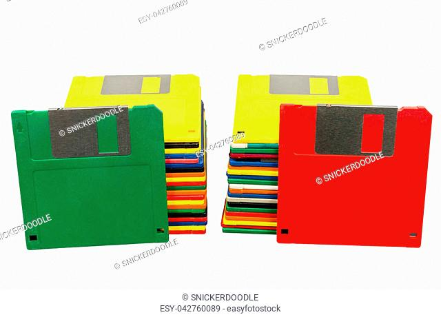 Floppy White Background Technology Stock Photos And Images
