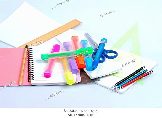 back to school, close-ups, school supplies