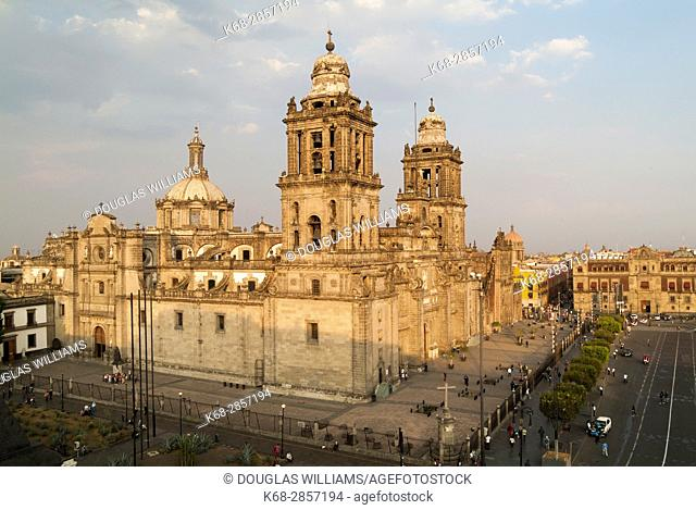 Cathedral in Mexico City, Mexico