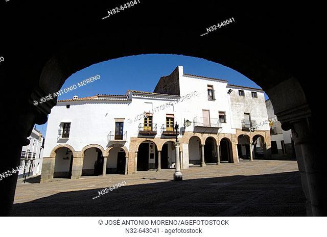 Plaza Chica. Zafra. Badajoz province. Extremadura. Spain