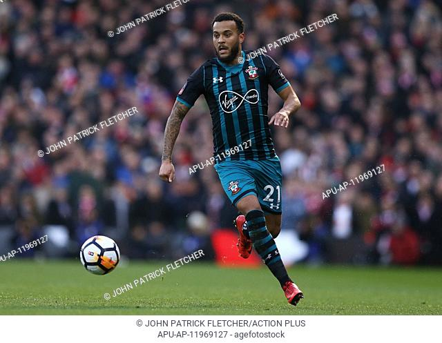 2018 FA Cup Football 3rd Round Fulham v Southampton Jan 6th. 6th January 2018, Craven Cottage, London, England; FA Cup football, 3rd round