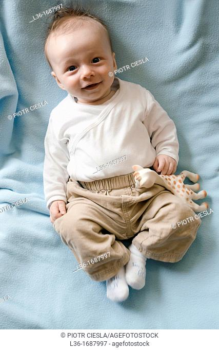 3 month old boy