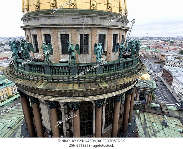 St. Isaac's Cathedral in St. Petersburg. Russia