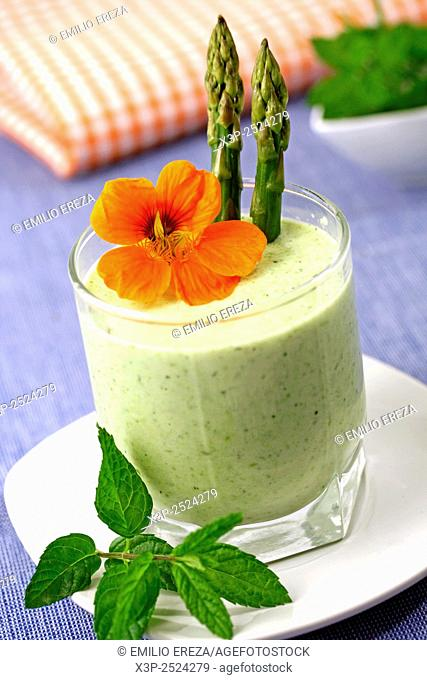 Asparagus cream