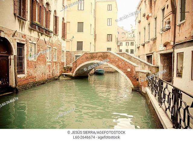 'Sestiere' Castello, Venice, Veneto, Italy