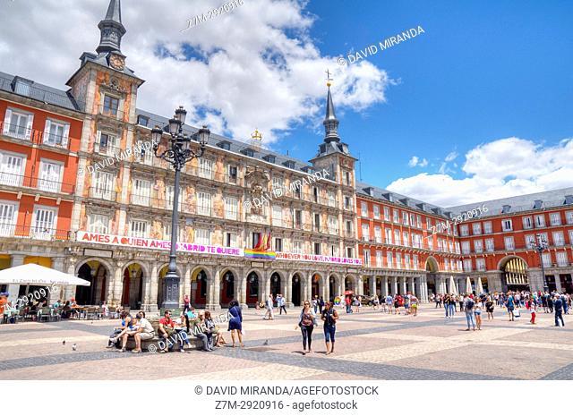 Plaza Mayor. Madrid, Spain
