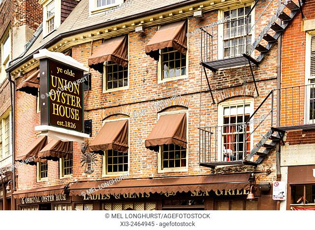 Ye Olde Union Oyster House, Union Street, Boston, Massachusetts, USA