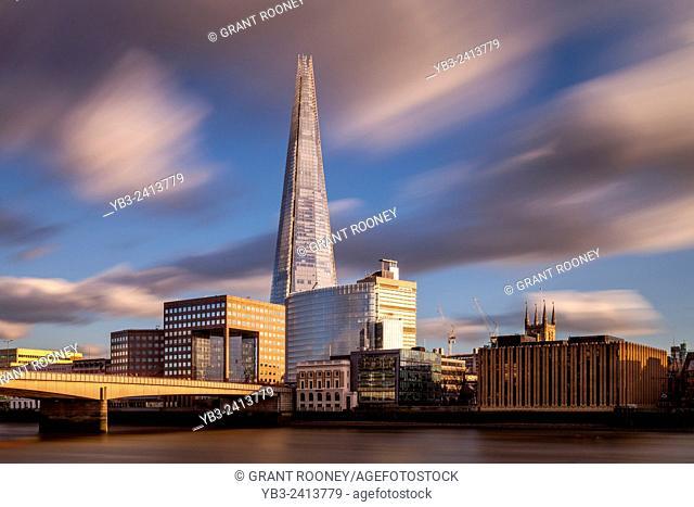 The Shard and London Bridge, London, England