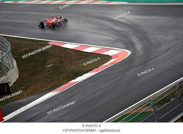 Friday Practice 2, Fernando Alonso ESP, Scuderia Ferrari, F-150 Italia, F1, Korean Grand Prix, Yeongam, Korean