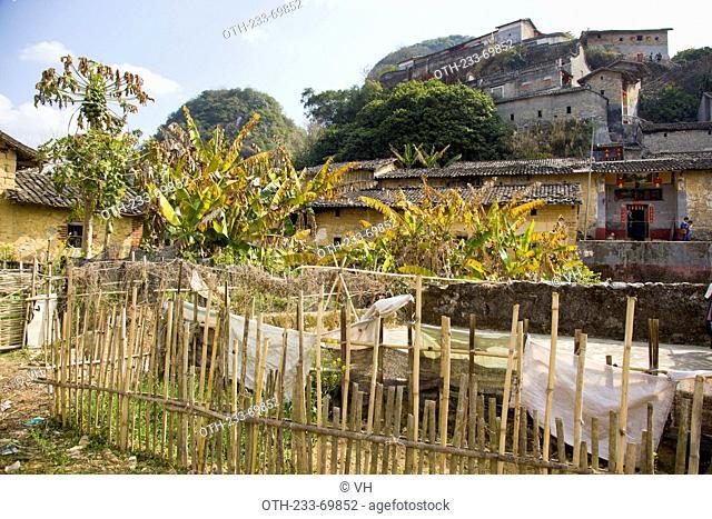 Peng ancestral hall, dubbed as 'Mini Potala Palace, Yingde county, Qing Yuan, China