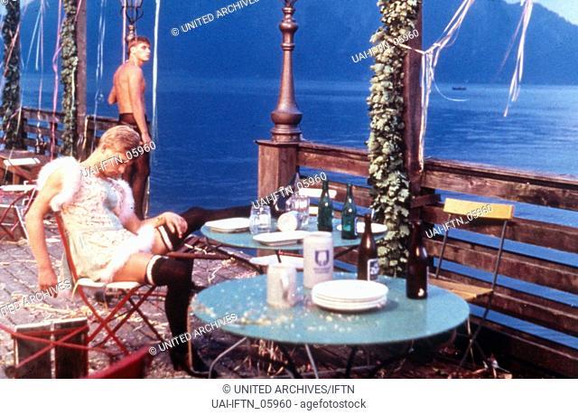 La caduta degli dei (Götterdämmerung), aka: Die Verdammten (Götterdämmerung); Italien/Deutschland 1969, Regie: Luchino Visconti, Szenenfoto am See