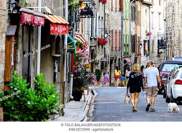 Vilafranca de Conflent, Roussillon, Pyrénées-Orientales, France